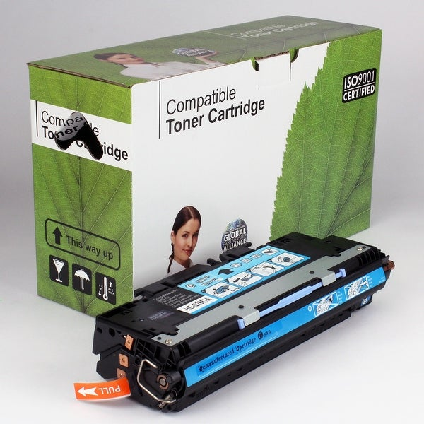 Value Brand replacement for HP 311A Cyan Toner Q2681A (6,000 Yield)