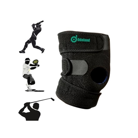 Breathable Non-slip Knee Brace with Patella Stabilizer Kneecap Support for hiking, running, basketba