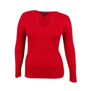 INC Inernational Concepts Women's Cutout Sweater