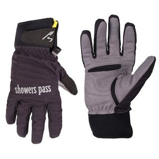 Showers Pass Women's Crosspoint Wind Full Finger Cycling Glove - 9520 - Black