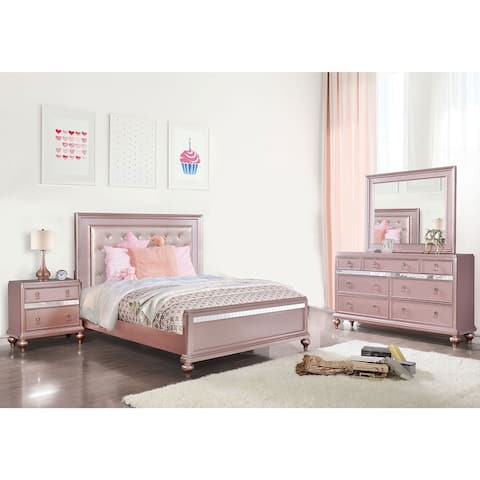4 Piece Bedroom Set With Full Bed