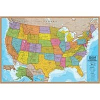 Round World Products RWPHMP02 24 x 36 in. USA Puzzle, 500 Pieces