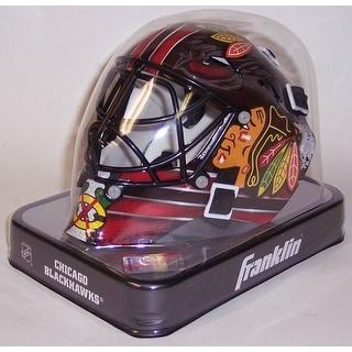 Chicago Blackhawks Franklin Sports NHL Mini Goalie Mask