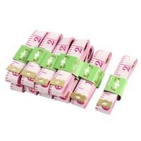 Unique Bargains 60-Inch Metric Soft Plastic Tape Measure Sewing Tailor Cloth Ruler 10 Pcs
