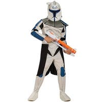 Rubies Star Wars Clone Wars Clone Trooper Captain Rex Child Costume - White