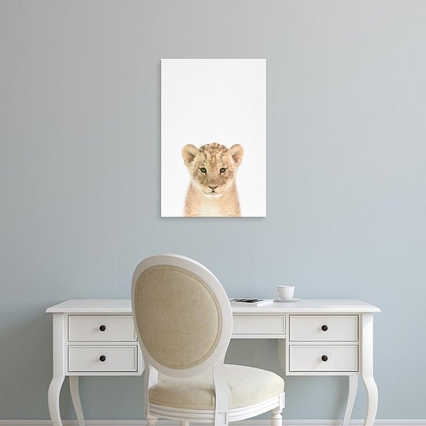 Easy Art Prints Tai Prints's 'Baby Lion' Premium Canvas Art