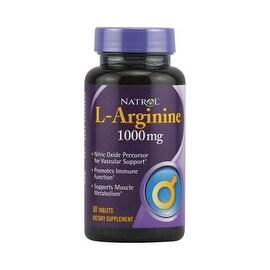 Natrol L-Arginine - 1000 mg - 50 Tablets