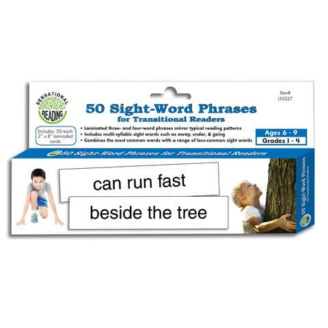 50 Sight Word Phrases For