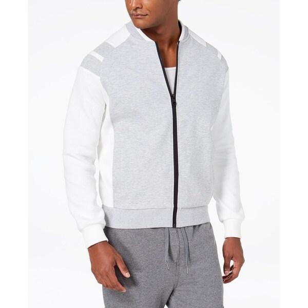 bd2e901a8 Shop Sean John Mens Medium Pieced Texture Bomber Jacket - On Sale ...