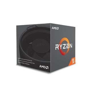 AMD YD260XBCAFBOX Ryzen 5 2600X Six-Core with Wraith Spire Cooler