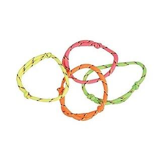 144 (1 Gross) Neon Rope Friendship Bracelets New