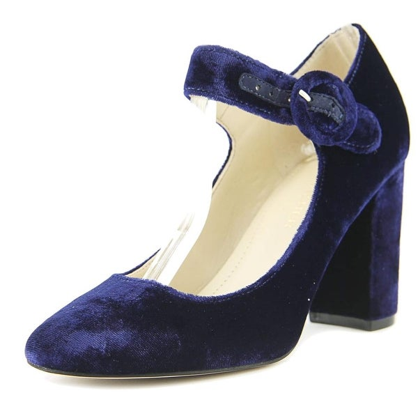 Marc Fisher Shaylie 2 Women Medium Blue Flats