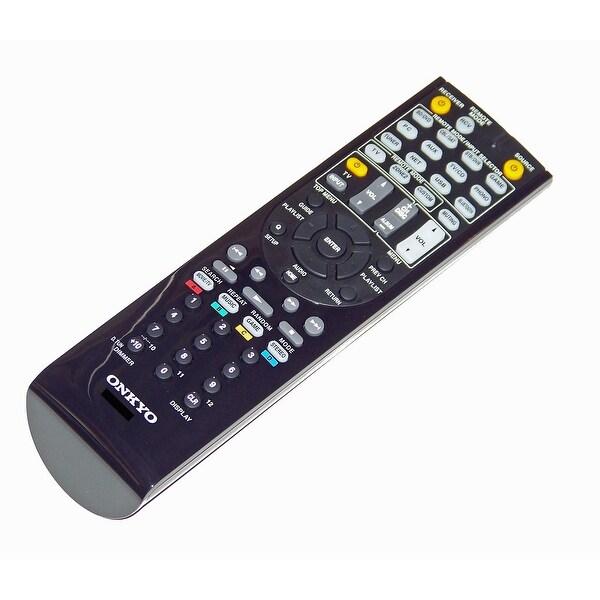 OEM Onkyo Remote Control Originally Shipped With: HTRC660, HT-RC660, HTS7700, HT-S7700, TXNR636, TX-NR636