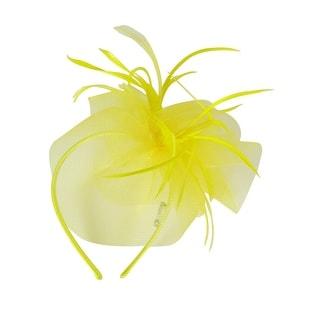 August Accessories Women's Feather Detail Headbands