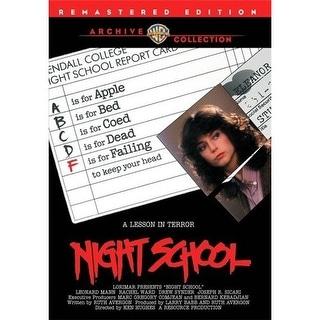 Night School DVD Movie 1981