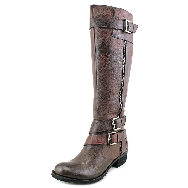 Andre Assous Roberta Women Round Toe Leather Knee High Boot