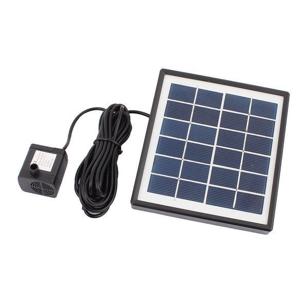 1.5W Solar Power Fountain Water Pump Panel Kit Pool Garden Pond Submersible
