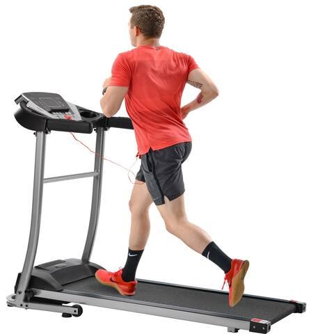 Merax Electric Folding Treadmill with 12 Preset Programs