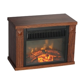 World Marketing - Emf160 - Cg Bookshelf Minifireplace Wgr