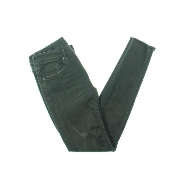 a0a0dd4e5cd Shop Vigoss Womens Chelsea Skinny Jeans Distressed Low-Rise - 24 ...