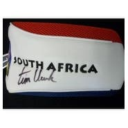Signed Clark Tim South Africa Golf Club Head Cover autographed