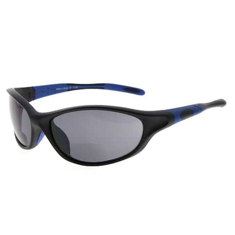 Eyekepper TR90 Frame Bifocal Sports Sunglasses Baseball Running Fishing Driving Golf Softball Hiking Sun Readers