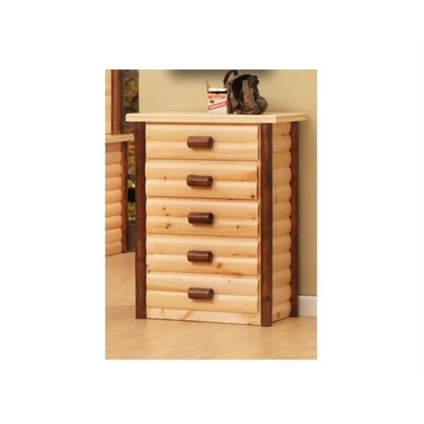 Shop Chelsea Home Furniture 5 Drawer Chester Ranch 48 X 34 X 19 In