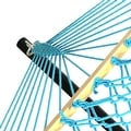 Sunnydaze Caribbean XL Rope Hammock with Spreader Bars & Hammock Stand - Thumbnail 18