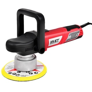 Gymax 6'' Variable Speed Dual-Action Polisher Random Orbital Polisher Kit Auto Detail