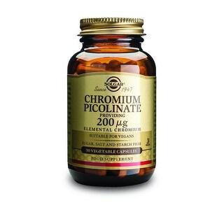 Solgar Chromium Picolinate 200 Mcg (90 Vegetable Capsules)
