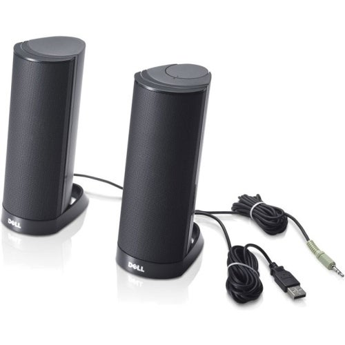 Dell AX-210 Dell AX-210 Speaker System - 1.2 W RMS - Black - USB - No