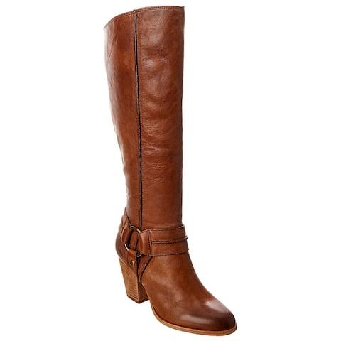 Frye Essa Seam Harness Leather Tall Boot