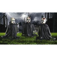 Zombie Baby Yard Stakes Halloween Decoration Set of 3