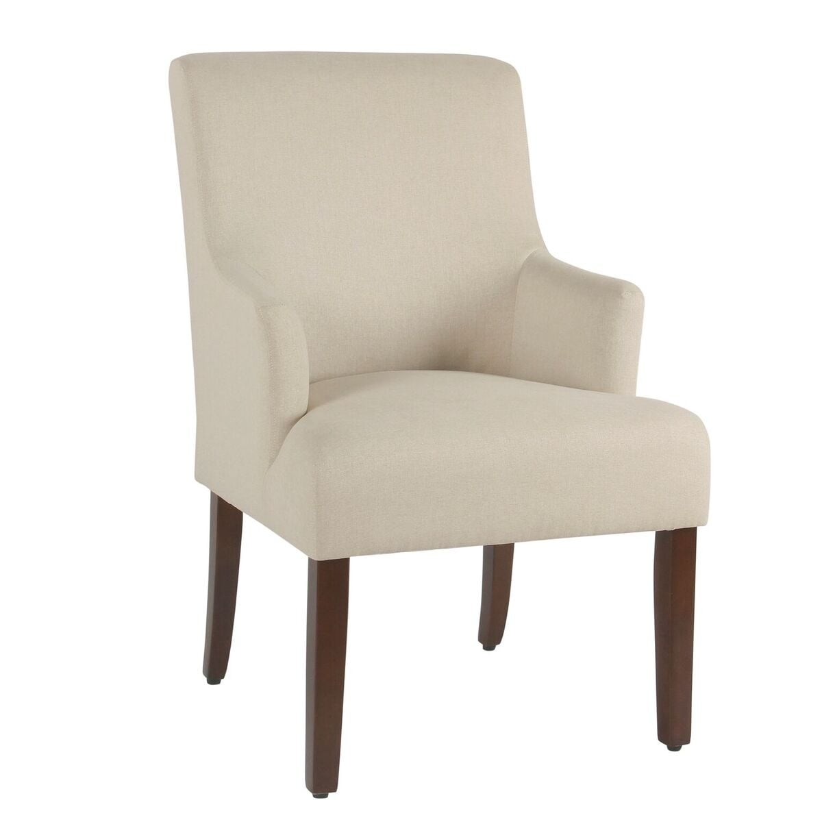 HomePop Meredith Anywhere Chair - Stain Resistant Cream ...
