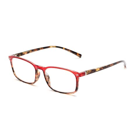Readers.com The Yonkers Retro Square Reading Glasses