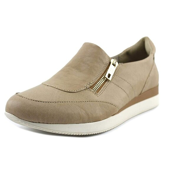 Naturalizer Womens Jetty Leather Low Top Zipper Fashion Sneakers