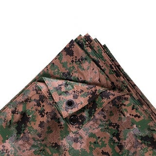 Stansport 12ft x 16ft Digital Camo Tarp - Woodland - T-1216-17