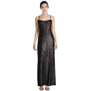 BCBG Maxazria Gisselle Sequined Sleeveless Evening Gown Dress - s