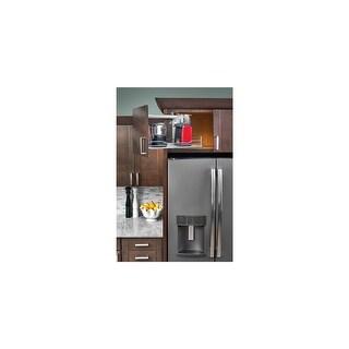 """Rev-A-Shelf 5708-15 15"""" Wide Upper Cabinet Pull-Out Shelf - Chrome - N/A"""