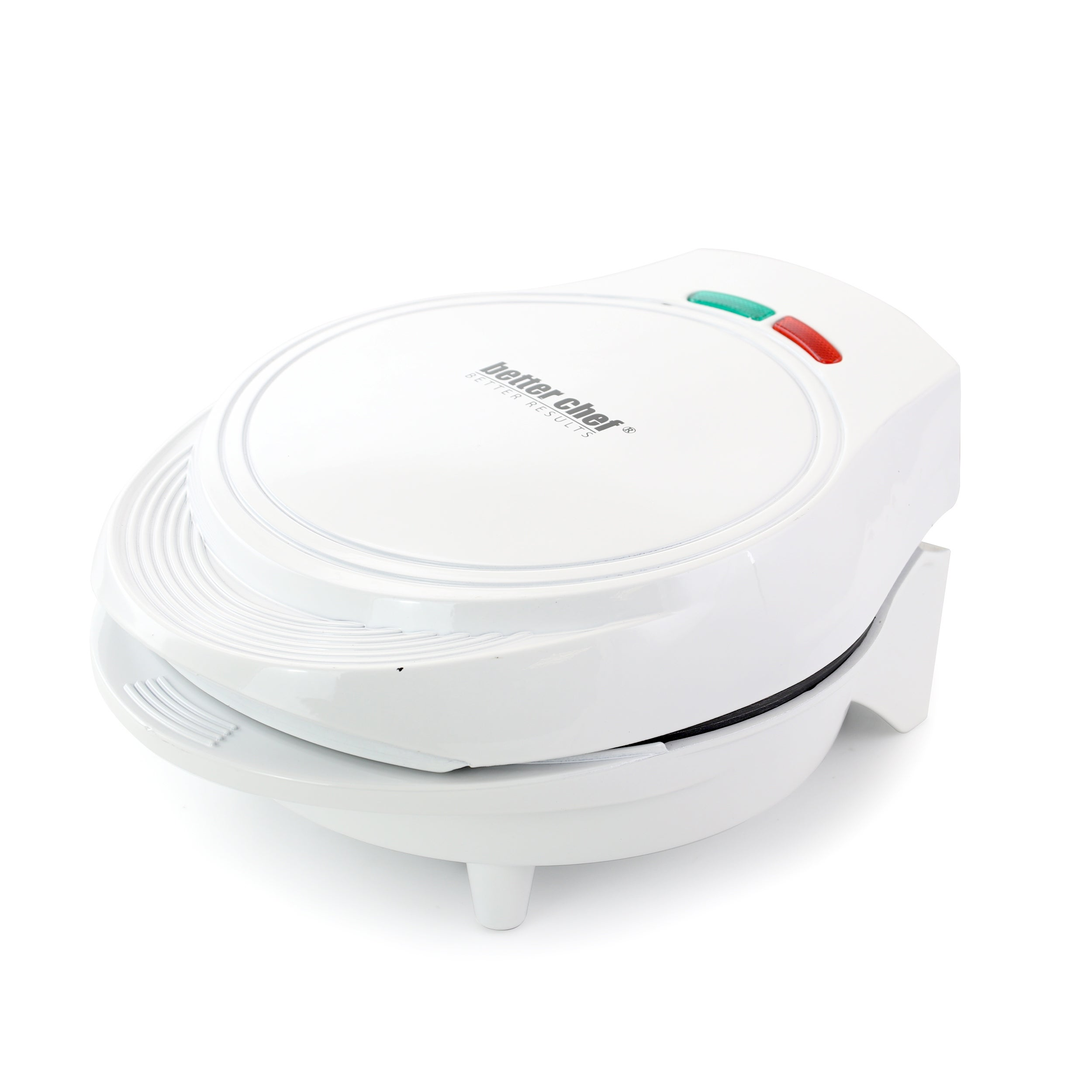 Better Chef Electric Double Omelet Maker Red
