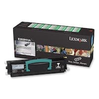 Lexmark E352H11A Lexmark High Yield Black Toner Cartridge - Black - Laser - 9000 Page - 1 Each