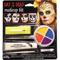 Day Of The Dead Character Costume Kit - Multi-Colored