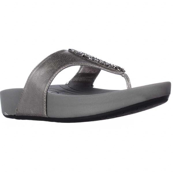 5ebf363050d229 Shop BareTraps Garnett Memory Foam Wedge Flip Flops