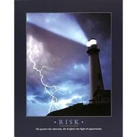 ''Risk'' by Anon Coastal Art Print (20 x 16 in.)