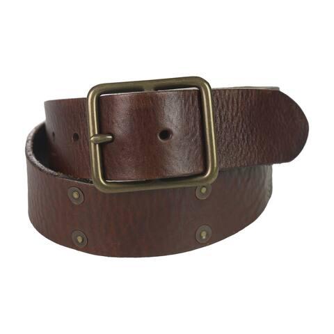 Ralph Lauren Mens Distressed Belt - 32