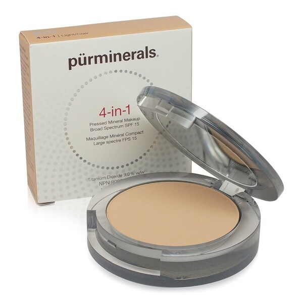 PUR 4-In-1 Pressed Mineral Makeup - Light 0.28 Oz