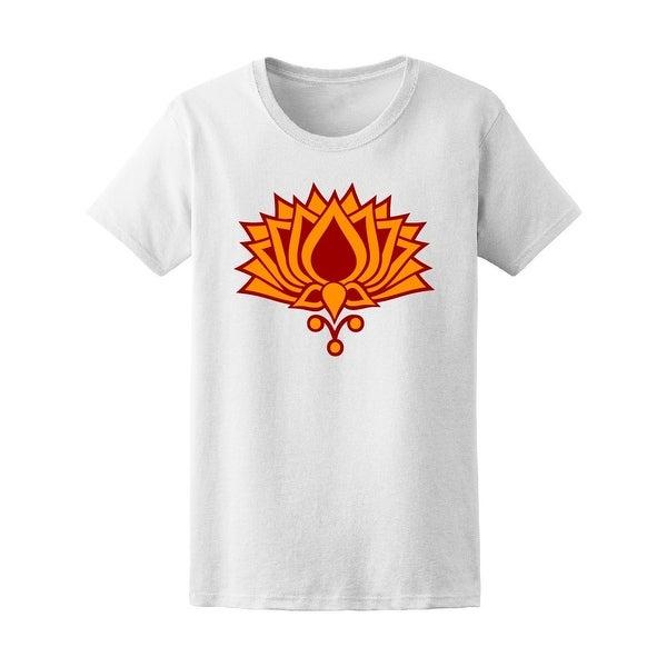 Shop Lotus Flower Buddha Symbol Tee Womens Image By Shutterstock