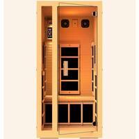 JNH Lifestyles Joyous 1-person Far Infrared Wood Sauna / Model MG115HB
