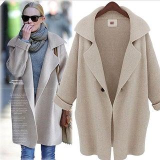 Women's Knitted Cardigan Coat