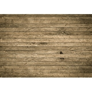 """Brewster WG5199-4P-1  Vintage Aged Wooden Wall 100"""" x 144-3/4"""" Non-Pasted Repositionable Vinyl Coated Paper Mural - 4 Panels"""